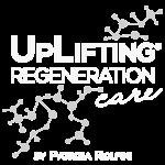 Logo UpLifting Regeneration Care bianco
